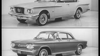VALIANT Vs CORVAIR & CHEVY II Vintage 1961
