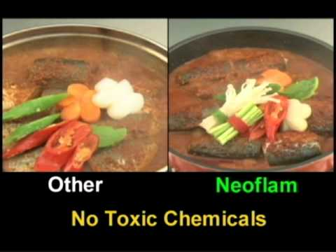 Neoflam cookware for healthy living free from PFOA and PTFE