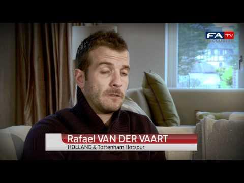 Scott Parker and Van der Vaart | Tottenham players on England vs Holland