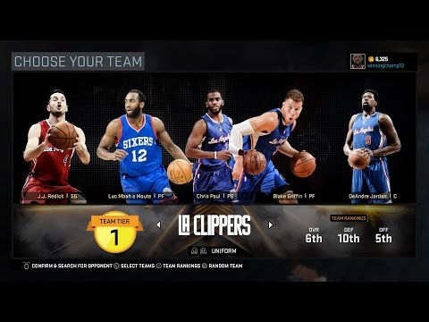 NBA 2K16 Online Gameplay - Los Angeles Clippers Gameplay