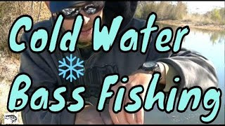 35 degree Winter Bass Fishing/ Practicing Editing