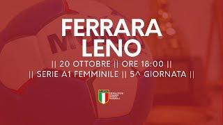 Serie A1F [5^]: Ariosto Ferrara - Leno 27-25