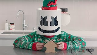 Gingerbread House Challenge Cooking With Marshmello