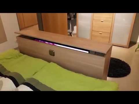 tv wandhalterung elektrisch videolike. Black Bedroom Furniture Sets. Home Design Ideas
