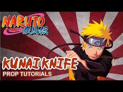 how to make a naruto kunai pouch out of paper