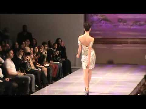 Laila Wazna (Saudi Arabia) | Couture Fashion Week New York February 2013