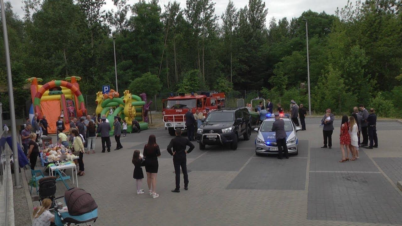 Policyjny festyn dla najmłodszych