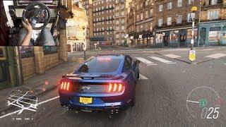 2018 Ford Mustang GT - Forza Horizon 4 | Logitech g29 gameplay