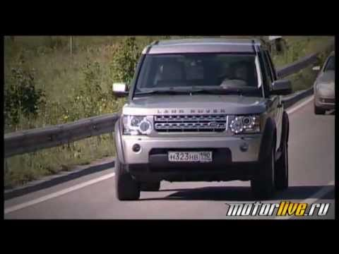 Тест Land Rover Discovery 4 2011
