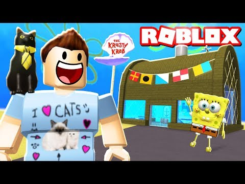 BUILDING THE KRUSTY KRAB IN ROBLOX