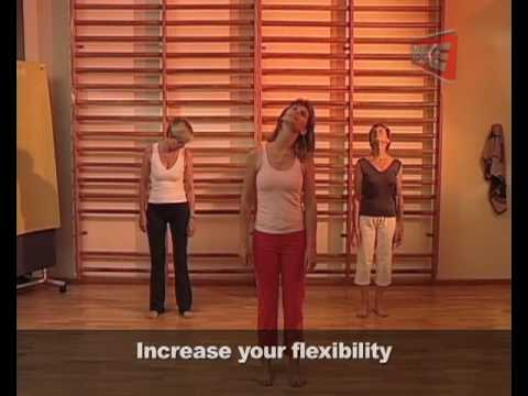 Increase Flexibility - Fitness for the Over 50's Series