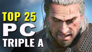 Top 25 Best Triple A PC Games (2012 - 2017)