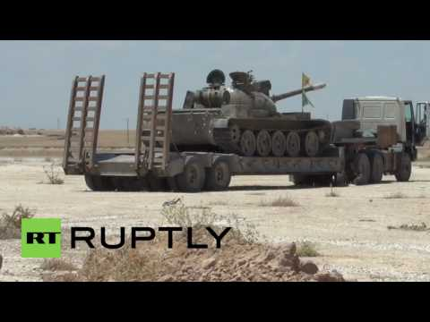 Syria: Kurdish-led forces mobilise outside Raqqa ahead of large-scale offensive