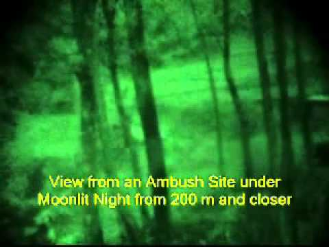 Night Vision Goggles View
