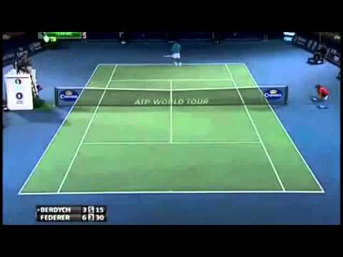 Roger Federer vs. Tomas Berdych Semi Final Highlights ATP Dubai 2013 - HD