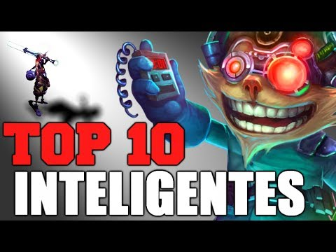 [NOVO] TOP 10 Inteligentes na LORE League of legends