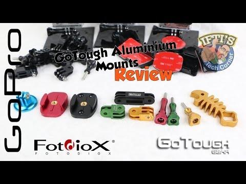 Fotodiox GoTough Aluminium Mounts for the GoPro Hero 3 / 3+ : REVIEW