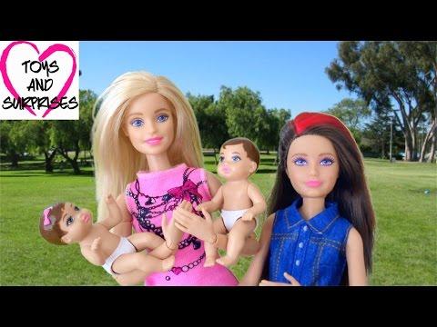 ❀  Барби Видео с куклами для девочек Пупсики Малыши потерялись Barbie Baby