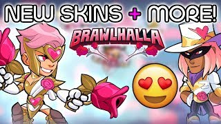 New Valentines Day Brawlhalla Skins + Colors + MORE!