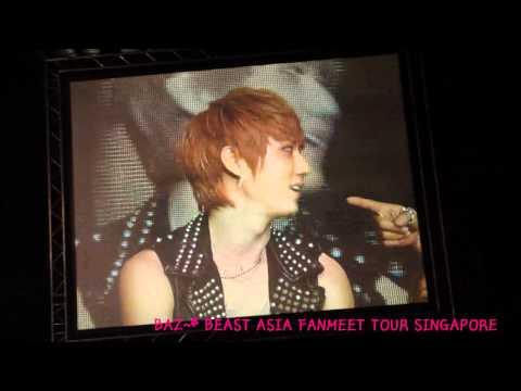 [FANCAM] 110702 Member Talk CUT - BEAST B2ST ASIA FANMEET TOUR SINGAPORE