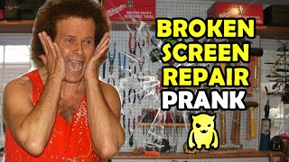 Broken Screen Repair Prank - Ownage Pranks