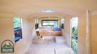 From Windows to Walls: School Bus Conversion Ep 27