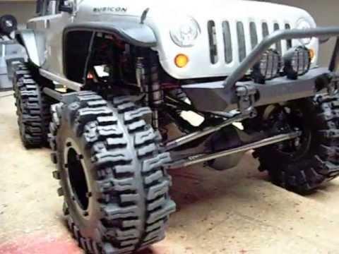 RC Axial scx10 2012 Jeep Wrangler Rubicon Modified, wraith ...