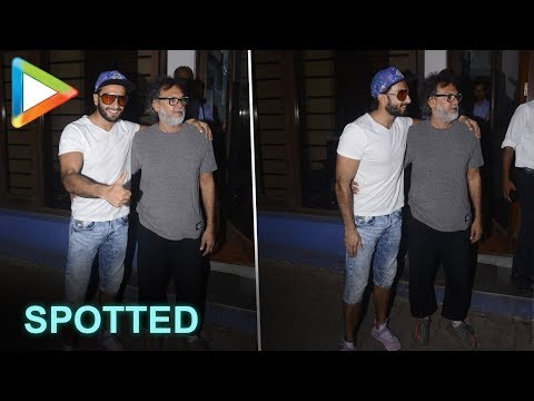 Deadpool Ranveer Singh SPOTTED with legendary director  Rakeysh Omprakash Mehra