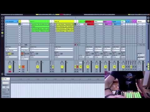 Ableton Advanced Dj Live Performance (Part 1) (with template for download)
