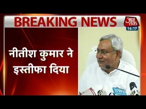 After being trounced in LS election, Nitish Kumar resigns as Bihar CM