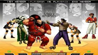 KOF 2002 UM - 台灣-阿澤 VS Nikolai-保力達 FT15