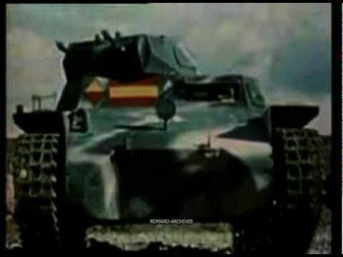 1937-38 Spain - The Civil War in Color (New Version) Music Videos