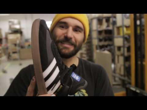 Adidas Samba ADV: 600 Skateboard Trick Wear Test