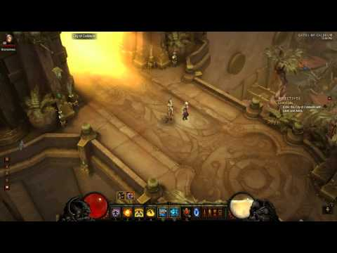 Diablo 3: Inferno Monk Duel Wield Secrets & SW:Cyclone/Crit Build Act 2 +