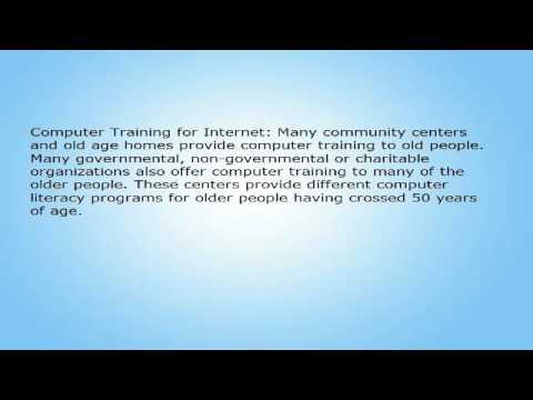 Computer Training for Seniors
