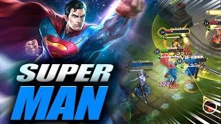 APRENDI A JOGAR COM O SUPERMAN!! ARENA OF VALOR