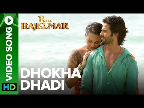 Dhokha Dhadi Official Video Song   R Rajkumar   Shahid Kapoor & Sonakshi Sinha