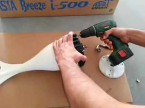 Ista Breeze Wind Turbin Generator  Test The New Model