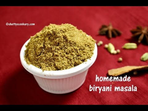 biryani masala powder recipe | homemade Biryani Masala Powder | How to make biryani masala powder