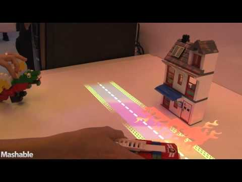Intel uses Lego as input device at CES, 2011