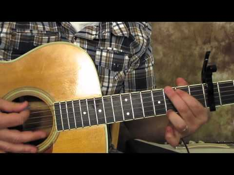 Somewhere Over The Rainbow - Israel iz Kamakawiwoʻole Inspired- Beginner Acoustic Guitar Lesson video
