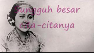 Lagu Wajib Nasional - Ibu Kita Kartini With Lirik