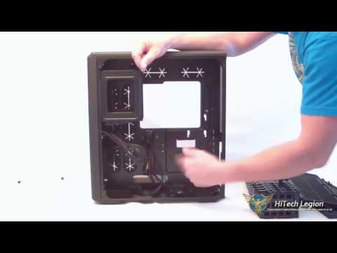 Corsair Carbide Series Air 540 Case Cube Review and Installed Components