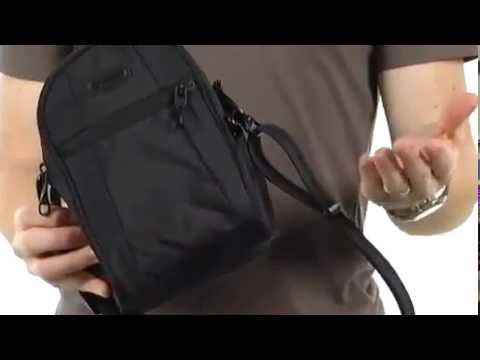 Pacsafe Luggage Metrosafe 100 Gii Hip And Shoulder Bag 107