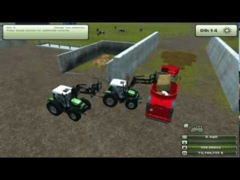 Feeding Cows 2   Farming Simulator 2013   HD