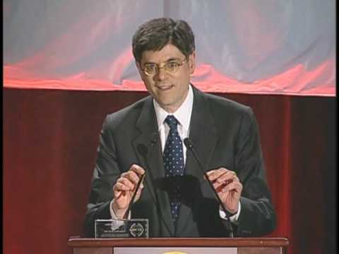 Jack Lew/Jill Iscol Intro and Jack Lew speech