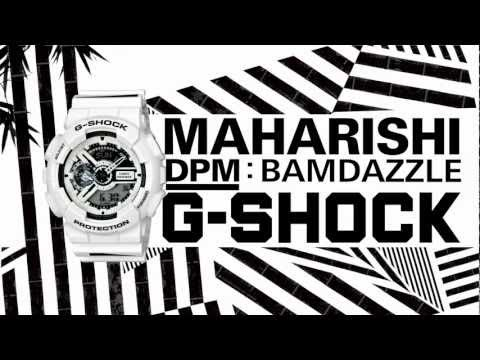 Casio G-Shock x  Maharishi – GA110MH-7A Mens Watch