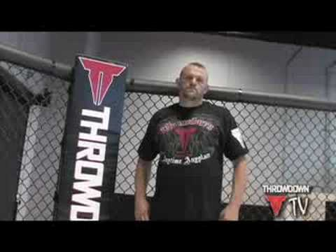 Chuck Liddell Clowning Around at the Throwdown Photo Shoot Image 1