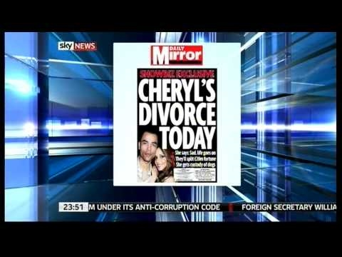 Anna Botting cracks up. Larger lovers & Ashley Cole's penis (Sky News. 2.9.10)