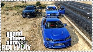 GTA 5 ROLEPLAY - POLICE HATE MY NISSAN GTR R34 | Ep. 174 Civ